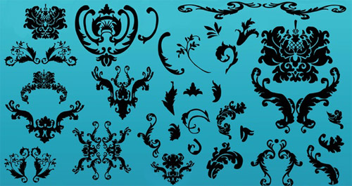 Free Ornaments Vectors