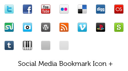 plus icon set Free Social Media Icon Sets Best Of