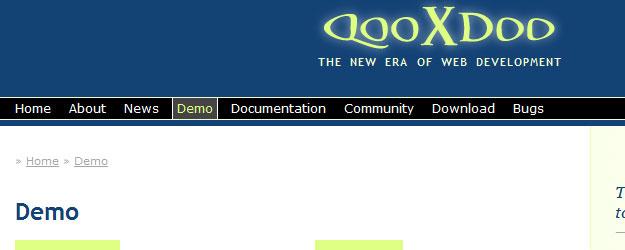 qooxdoo - the new era of web development