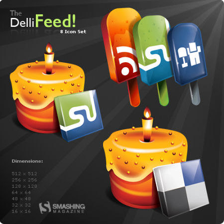 dellifeed icon set Free Social Media Icon Sets Best Of