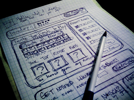 Using Wireframes to Think Through a Design