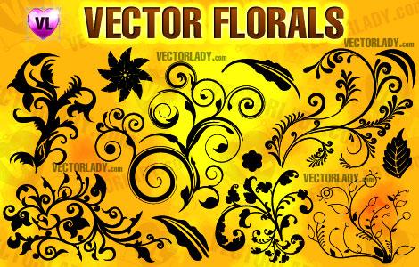 vector florals clipart