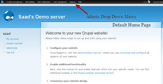 Drupal's Administer Page: A Crash Course