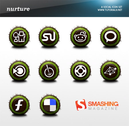 nurture icon set Free Social Media Icon Sets Best Of