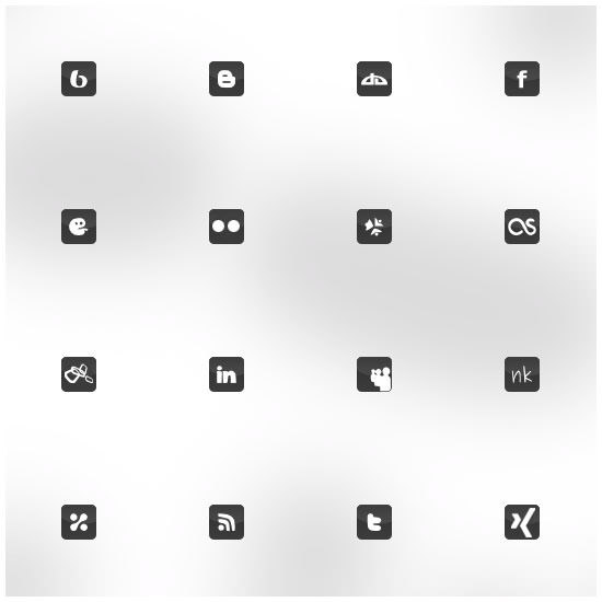 a life in pixel icon set Free Social Media Icon Sets Best Of