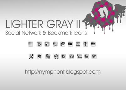 lighter grey icon set Free Social Media Icon Sets Best Of