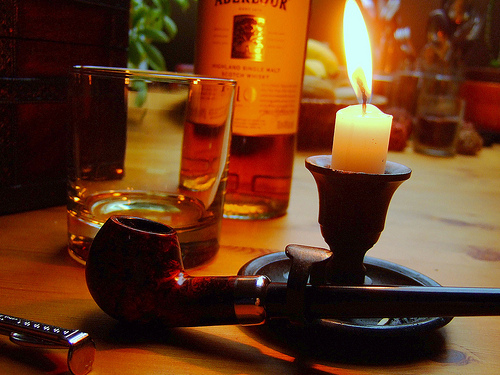 Whisky and a Pipe