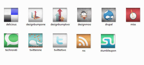 rivet social icon set Free Social Media Icon Sets Best Of