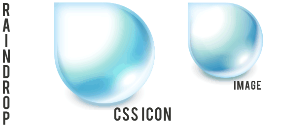 Raindrop CSS Logo