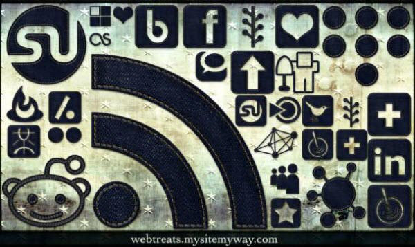 dark denim icon set Free Social Media Icon Sets Best Of