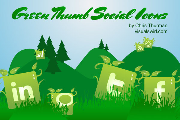 green thumb icon set Free Social Media Icon Sets Best Of