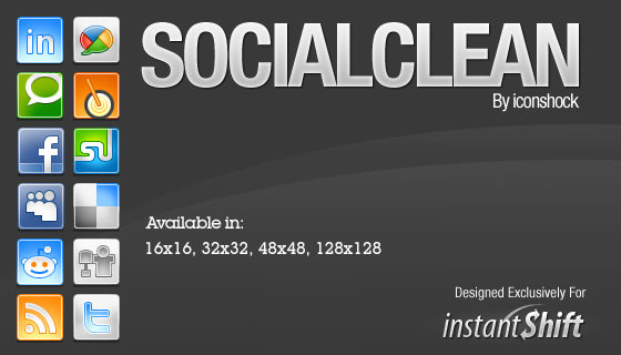socialclean icon set Free Social Media Icon Sets Best Of