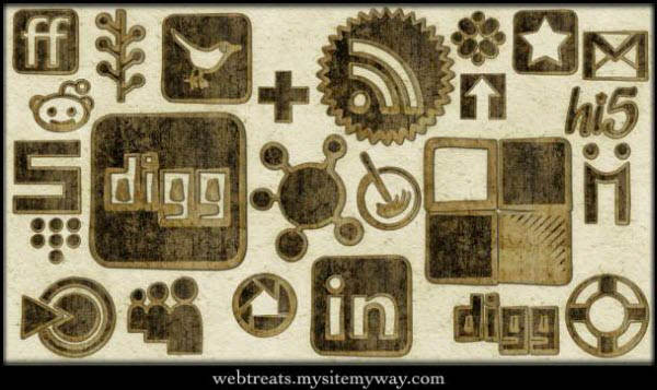 worn cloth icon set Free Social Media Icon Sets Best Of