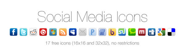 social media icon set Free Social Media Icon Sets Best Of