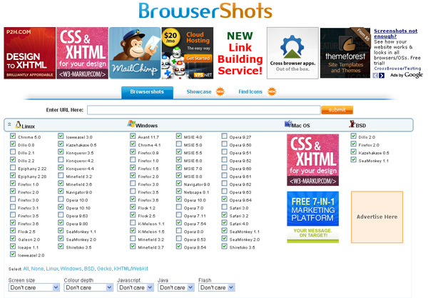 browsershots Complete Guide to Cross Browser Compatibility Check