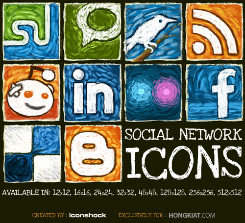 social network icon set Free Social Media Icon Sets Best Of